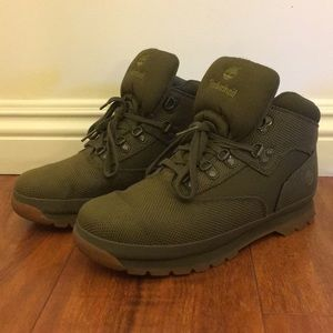 Timberland high top boots